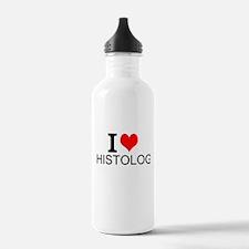 I Love Histology Water Bottle