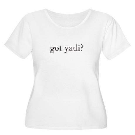 Got Yadi Women's Plus Size Scoop Neck T-Shirt