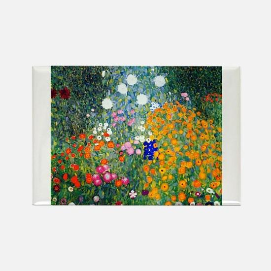 Funny Floral Rectangle Magnet