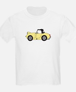Light Yellow Frogeye Bugeye T-Shirt