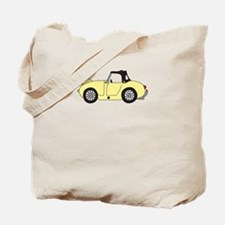 Light Yellow Frogeye Bugeye Tote Bag
