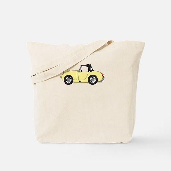 Light Yellow Frogeye Bugeye Tote Bag