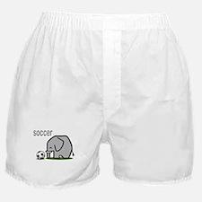 Soccer Elephant (2) Boxer Shorts