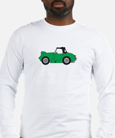 Green Frogeye Bugeye Long Sleeve T-Shirt