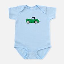Green Frogeye Bugeye Infant Bodysuit