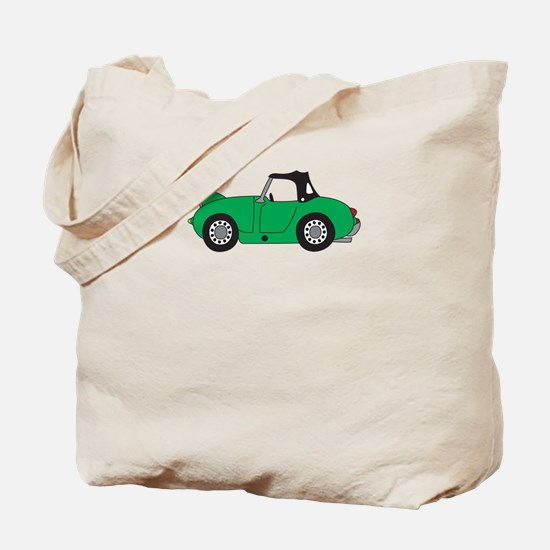 Green Frogeye Bugeye Tote Bag