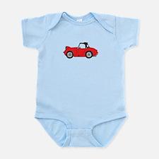 Red Frogeye Bugeye Infant Bodysuit