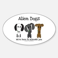 Alien Dogs Decal