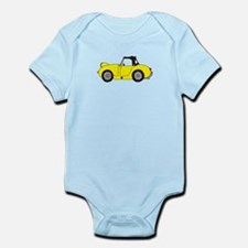 Yellow Frogeye Bugeye Infant Bodysuit