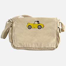 Yellow Frogeye Bugeye Messenger Bag