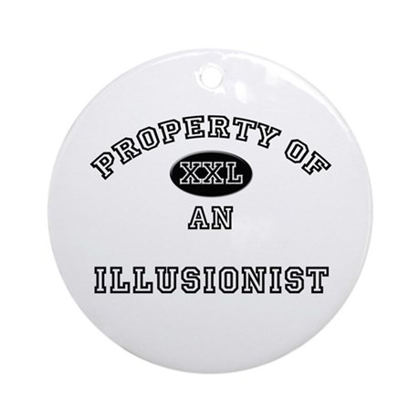 Property of an Illusionist Ornament (Round)