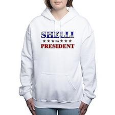 Unique Meforamerica Women's Hooded Sweatshirt