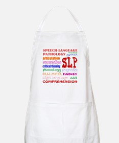 SLP Colorful Fun Font Apron