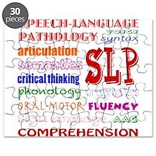 SLP Colorful Fun Font Puzzle