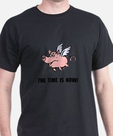 Unique When pigs fly T-Shirt