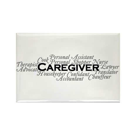 Caregiver Rectangle Magnet (10 pack)
