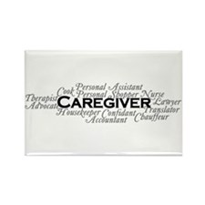 Caregiver Rectangle Magnet