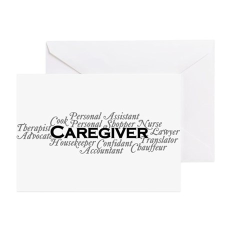 Caregiver Greeting Cards (Pack of 20)