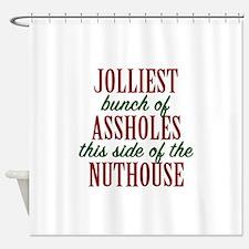 Jolliest Bunch Shower Curtain