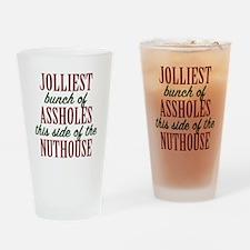 Jolliest Bunch Drinking Glass