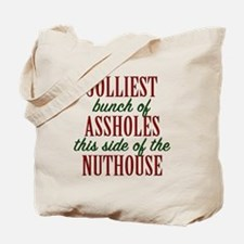 Jolliest Bunch Tote Bag