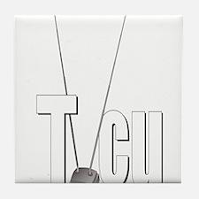 TVCU Logo Tile Coaster