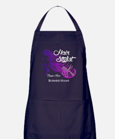 Hair Stylist Custom Apron (dark)