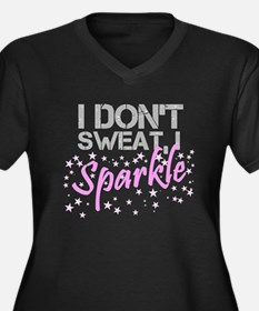Sparkle Sweat Plus Size T-Shirt