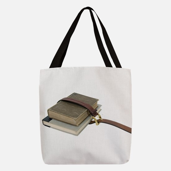 OldSchoolBooks071809.png Polyester Tote Bag