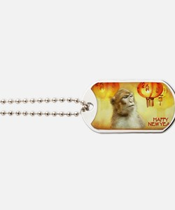 Cute Lanterns Dog Tags