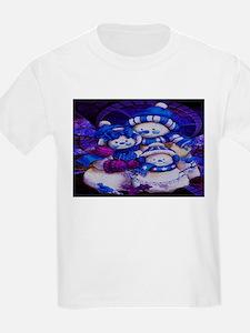 Snowman Family T-Shirt