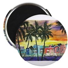 Cute South beach miami Magnet