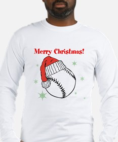 MerryChristmasBaseball Long Sleeve T-Shirt