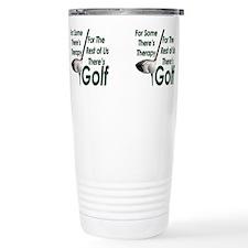 Cute Golfing Travel Mug