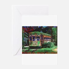 Unique Streetcars Greeting Card