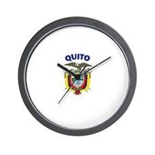Quito, Ecuador Wall Clock
