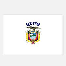 Quito, Ecuador Postcards (Package of 8)
