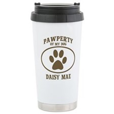 Cute Personalized daisy Travel Mug