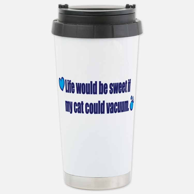 Cute Chartreux Travel Mug