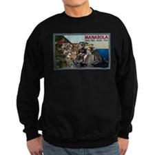 Cute Travel cinque terre Sweatshirt