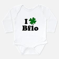 Funny Bflo Long Sleeve Infant Bodysuit