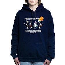 Funny Starwars penguin Women's Hooded Sweatshirt