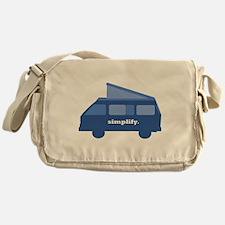 BusLife Simplify in blue Messenger Bag