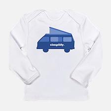 BusLife Simplify in blue Long Sleeve T-Shirt