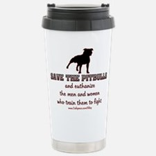Cool American pit bull terrier Travel Mug