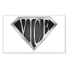 SuperVice(metal) Rectangle Decal