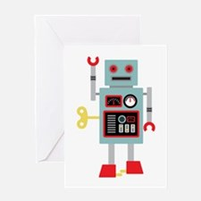 Robot Toy Greeting Cards