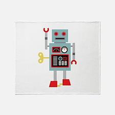 Robot Toy Throw Blanket
