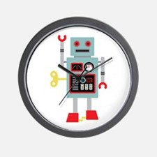 Robot Toy Wall Clock
