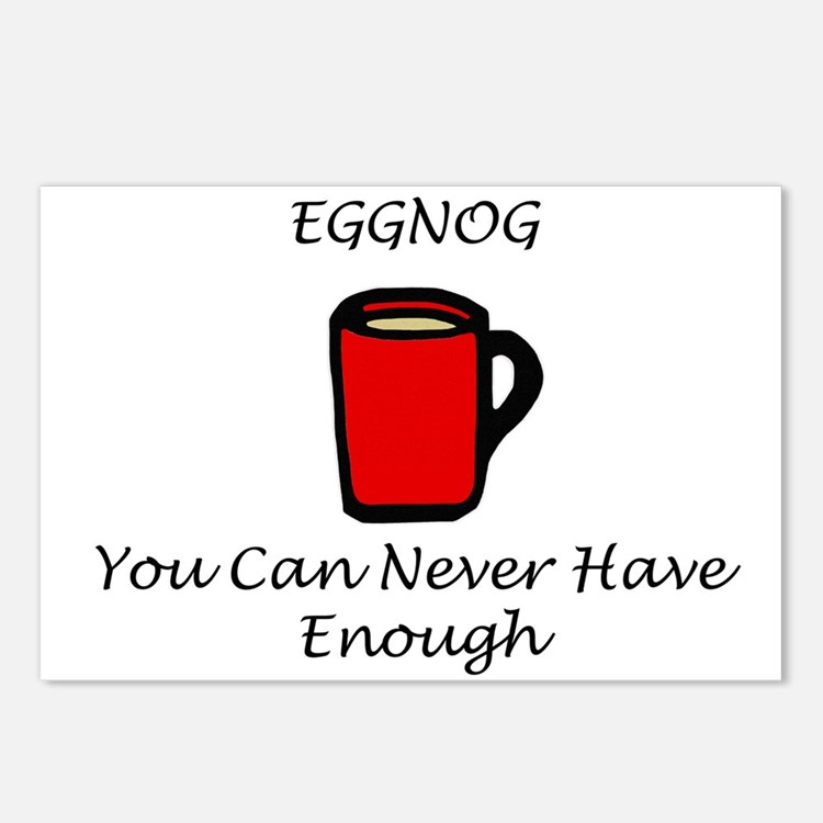 Eggnog Postcards (Package of 8)